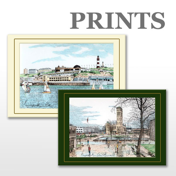 Browse Chris Robinson's Plymouth Prints