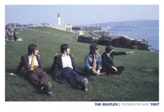 The Beatles on Plymouth Hoe 1967